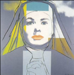 Ingrid Bergman The Nun Trial Proof by Andy Warhol