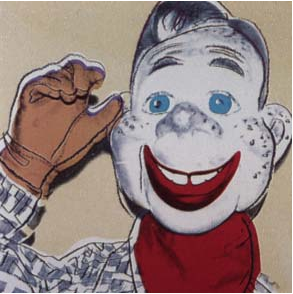 Howdy Doody Trial Proof by Andy Warhol