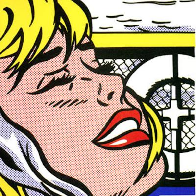 Ship Board Girl, Roy Lichtenstein