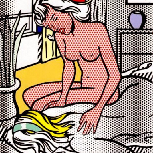 Two Nudes, Roy Lichtenstein