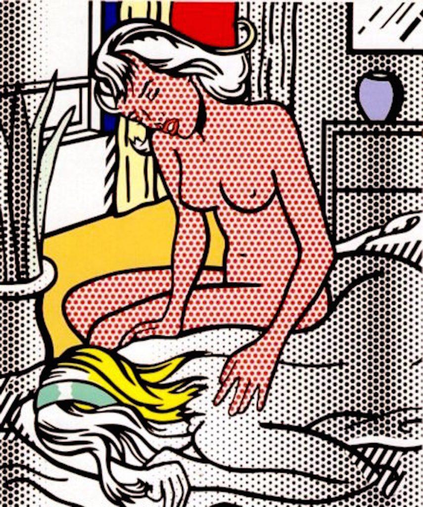 Two Nudes, Roy Lichtenstein