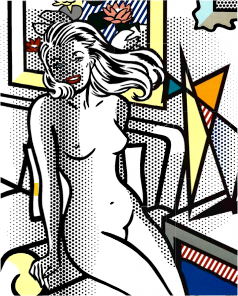 Yellow Nude, Roy Lichtenstein