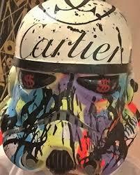 Cartier Stormtropper Helmet  by  Alec Monopoly