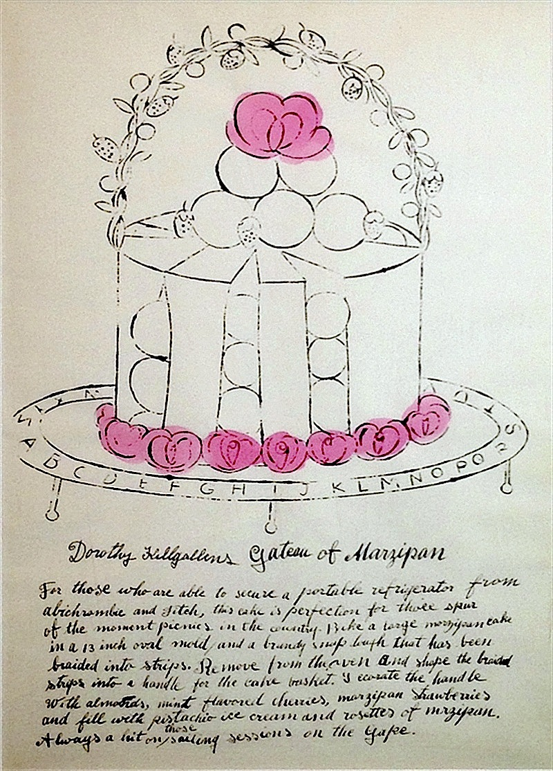 Dorothy Killgallens Gateau of Marzipan,