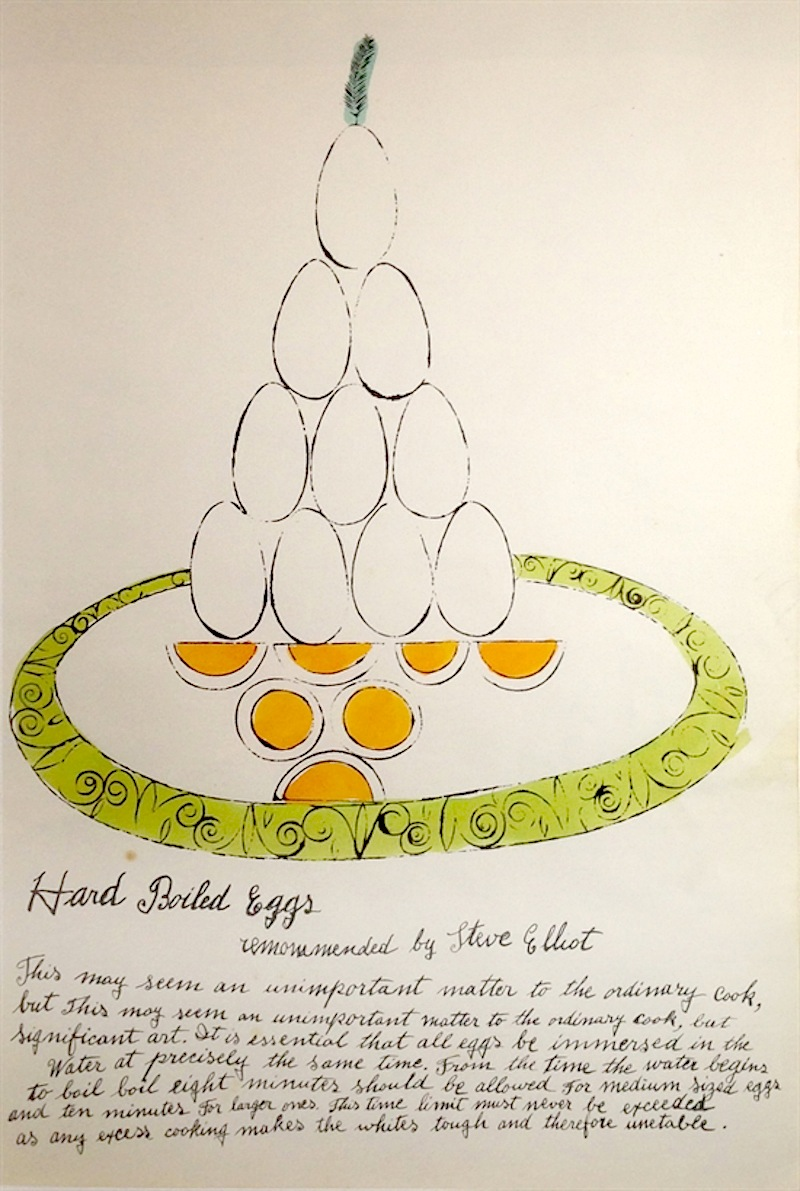 Hard Boiled Eggs by Andy Warhol