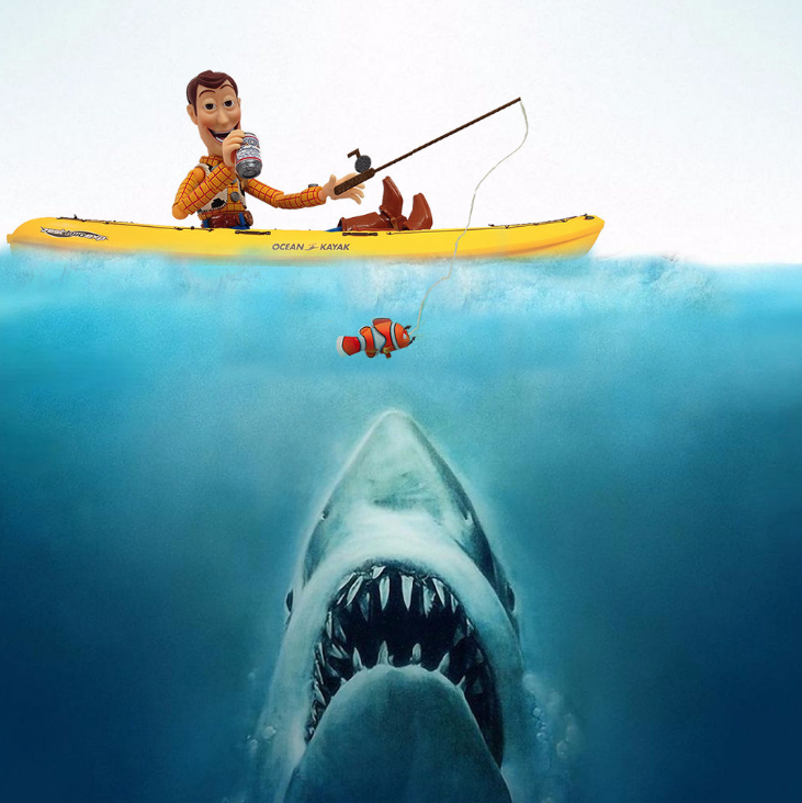 Jaws Woody by Santlov