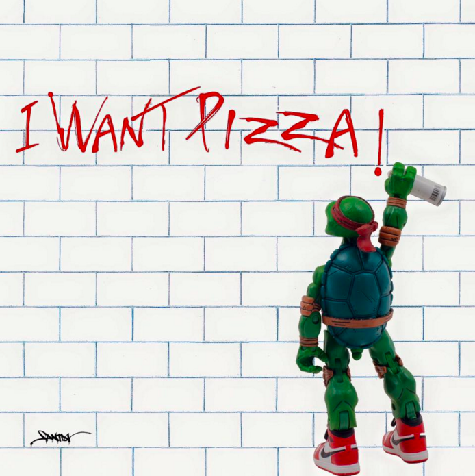 I WANT PIZZA by Santlov