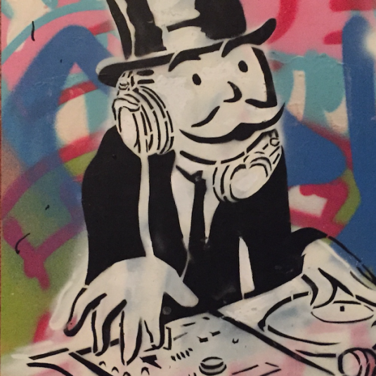 Colorful DJ, Alec Monopoly