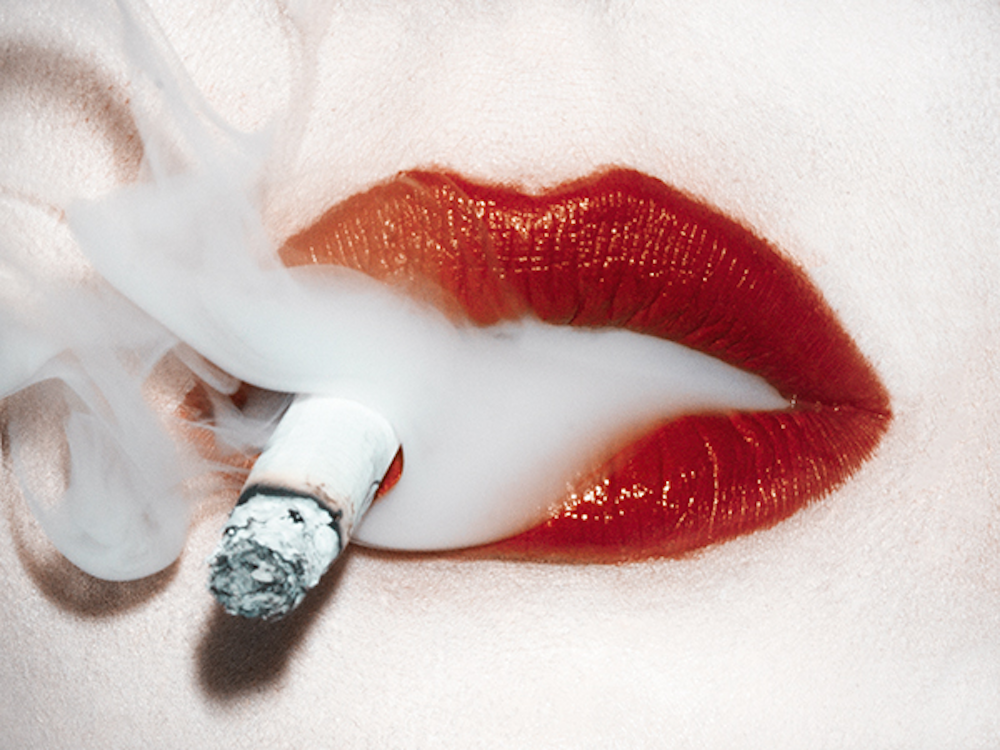 chanel smoke by Tyler Shields