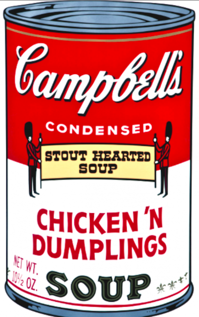 Campbell's Soup Can Prints, Andy Warhol's Campbell Soup Cans