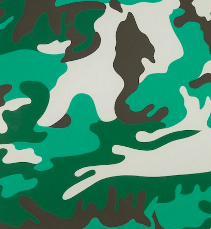 Camouflage 406 by Andy Warhol