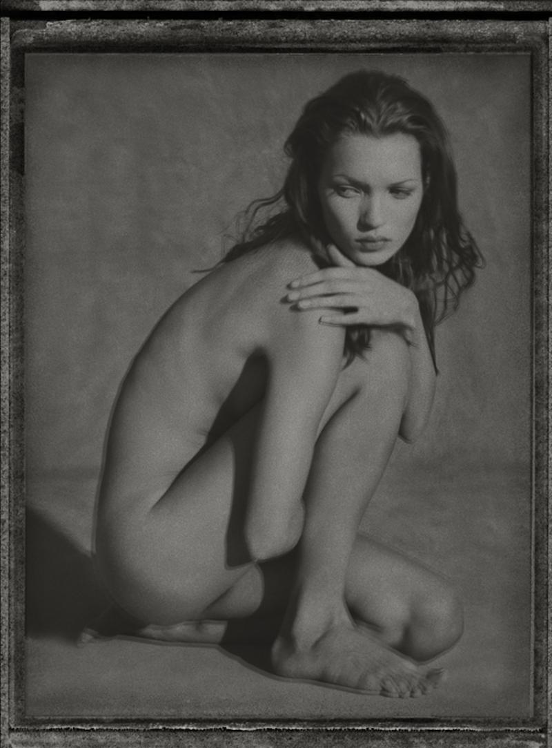 Moss Polaroid by Albert Watson