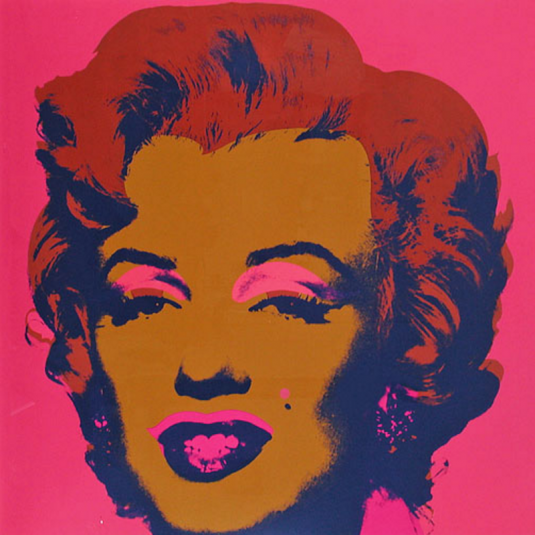 Andy warhol portraits of marilyn monroe prints guyhepner for Andy warhol famous paintings