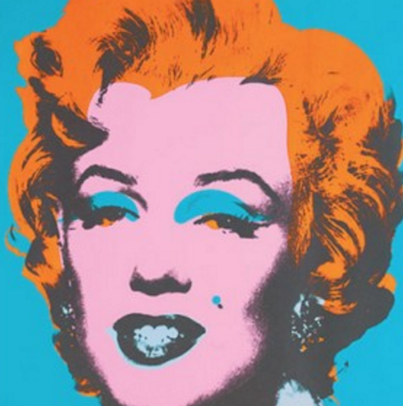 Portraits of Marilyn Monroe by Andy Warhol - Guy Hepner