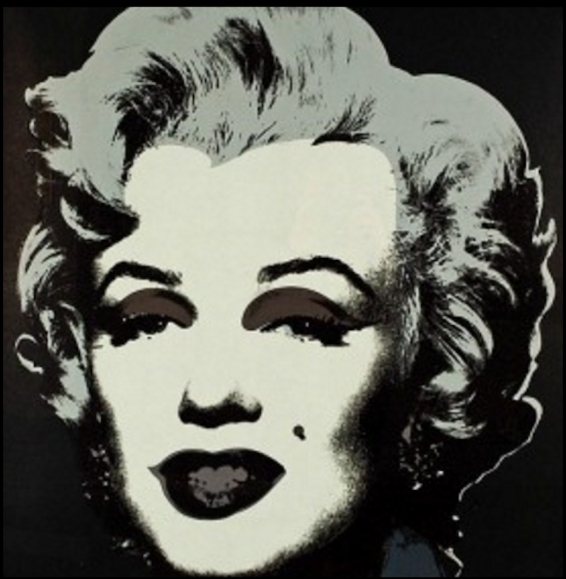 marilyn monroe 24 andy warhol guy hepner. Black Bedroom Furniture Sets. Home Design Ideas