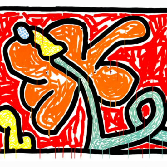 Keith Haring, Haring, Flowers