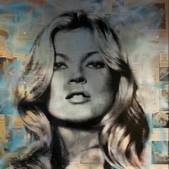 Kate Moss by Mr. Brainwash