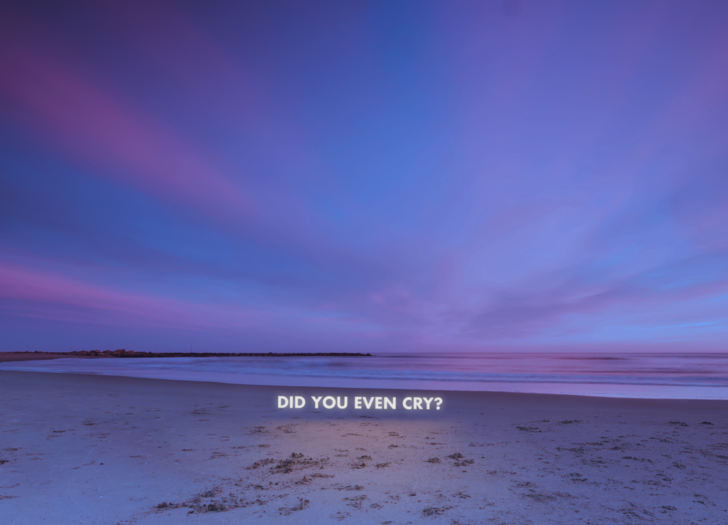 Did you even cry by Witchoria