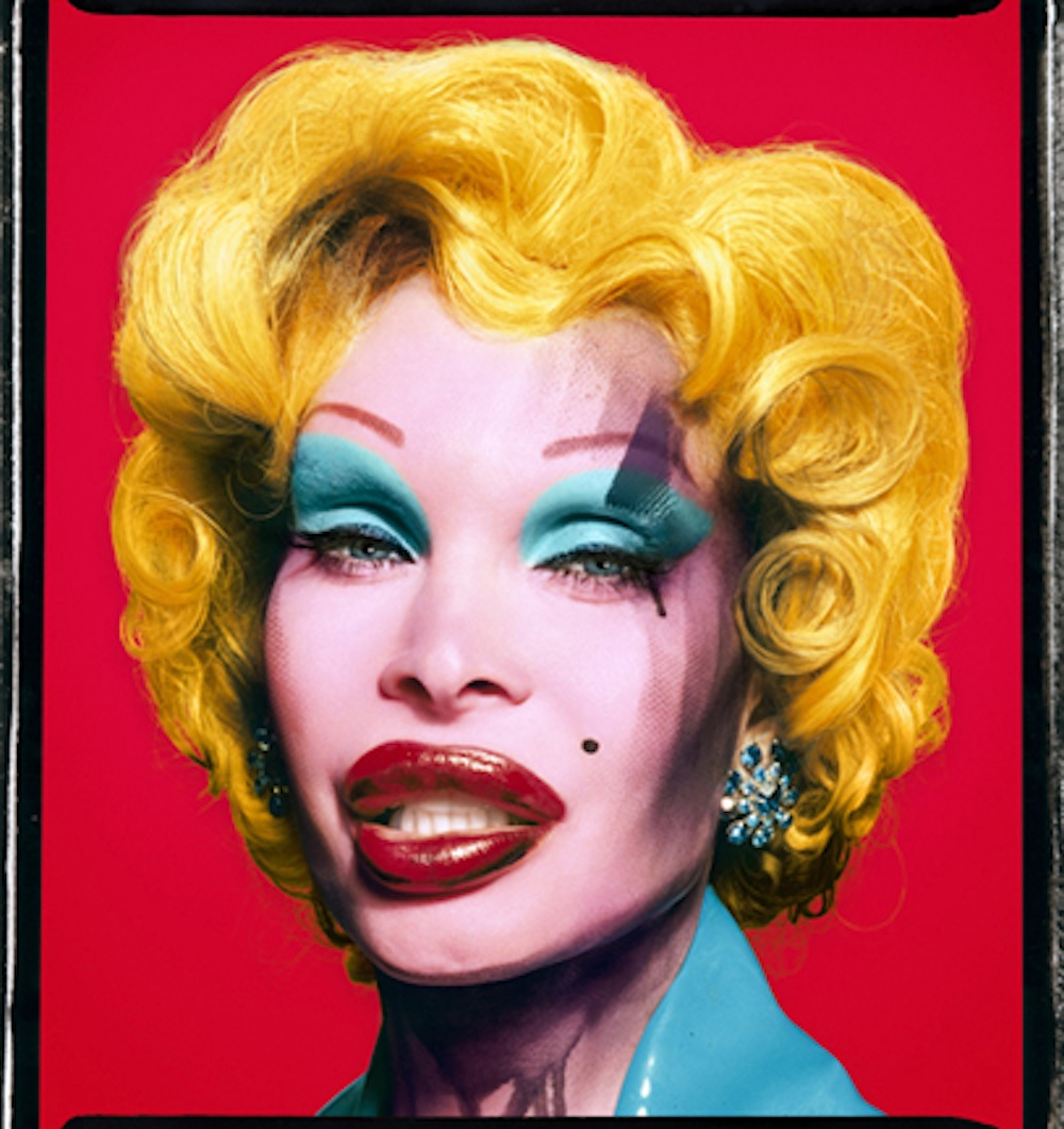 Amanda as Marilyn Red by David LaChapelle