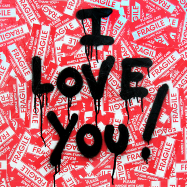 I Love You, Mr. Brainwash, Popular, painitng