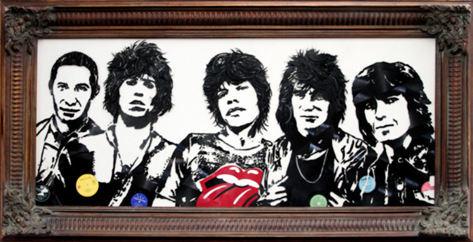 Rolling Stones by Mr. Brainwash