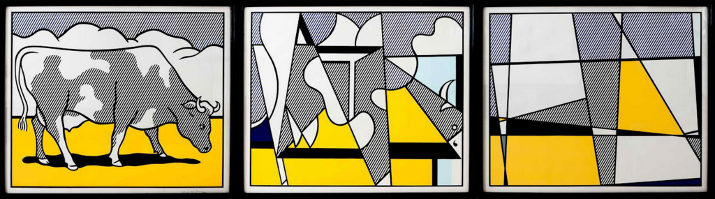 Roy Lichtenstein, Lichtenstein, pop