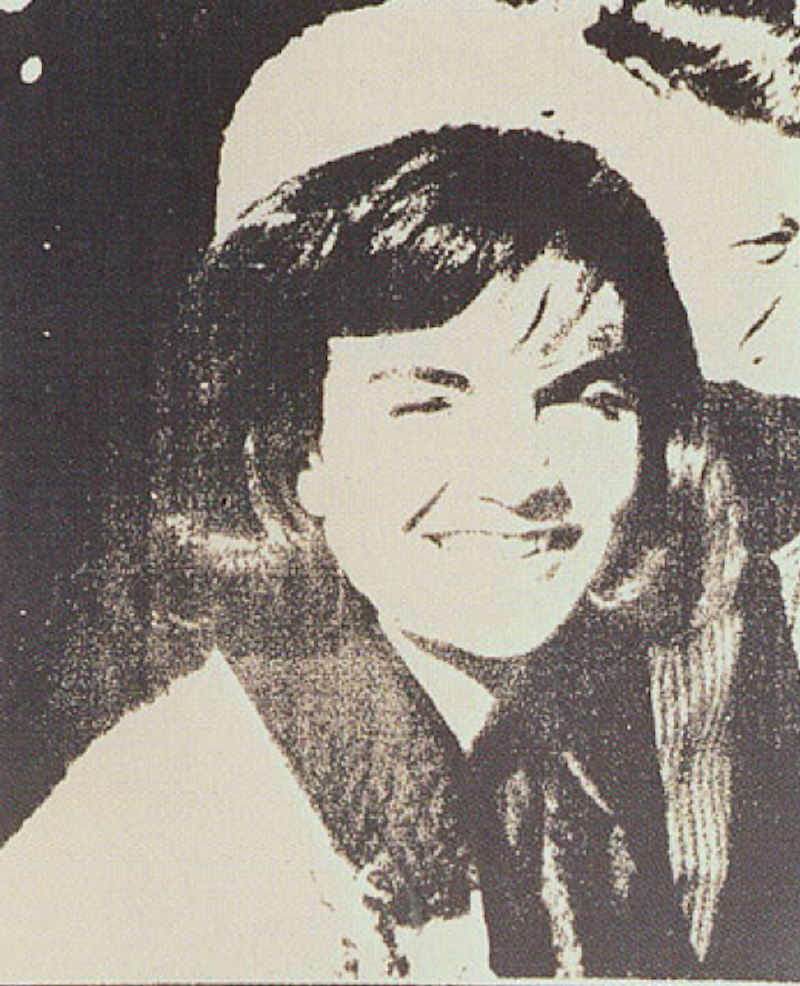 Jackie Kennedy I by Andy Warhol
