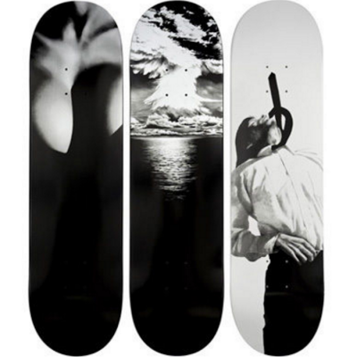 Robert Longo, skateboards