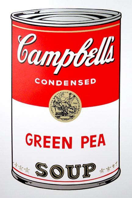 andywarhol, pop, warhol, Green Pea by Andy Warhol