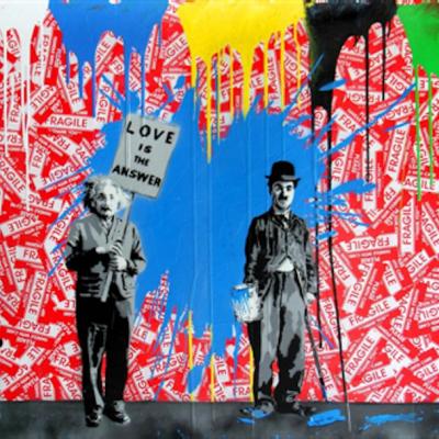 Mr brainwash art nyc gallery for Mural by mr brainwash