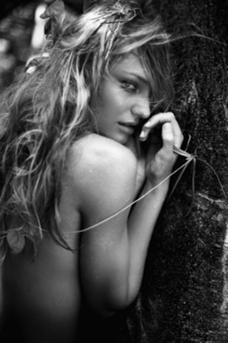 Candice, Necker Island by Russell James