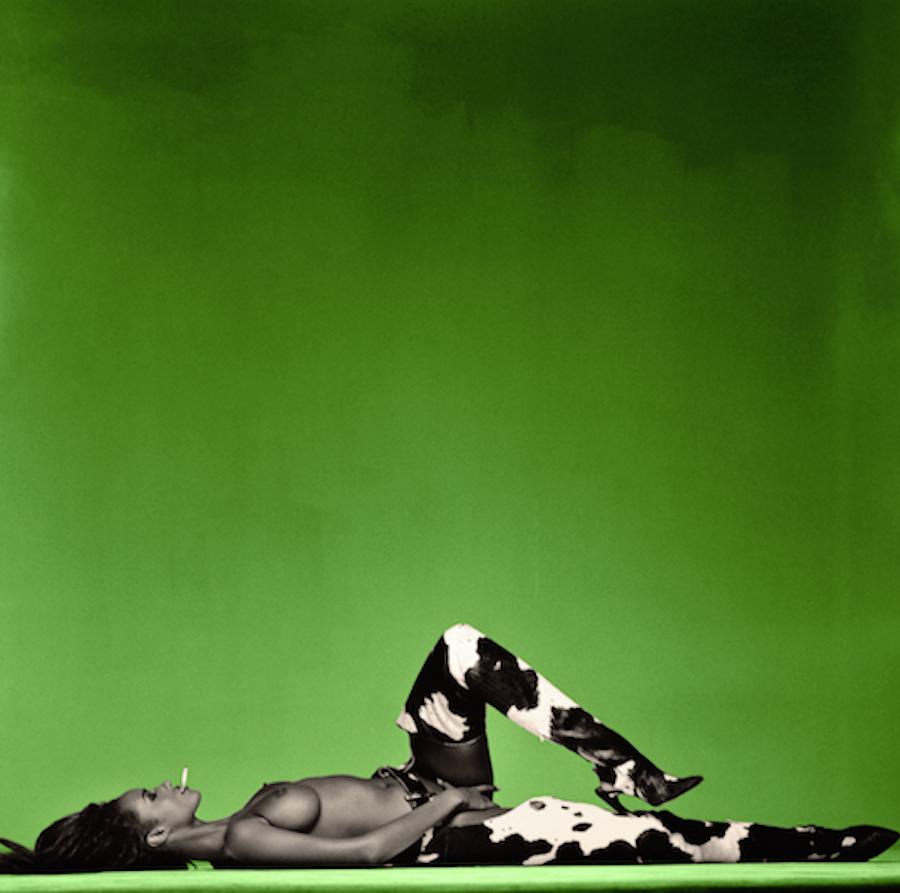 Iman Green by Michel Comte