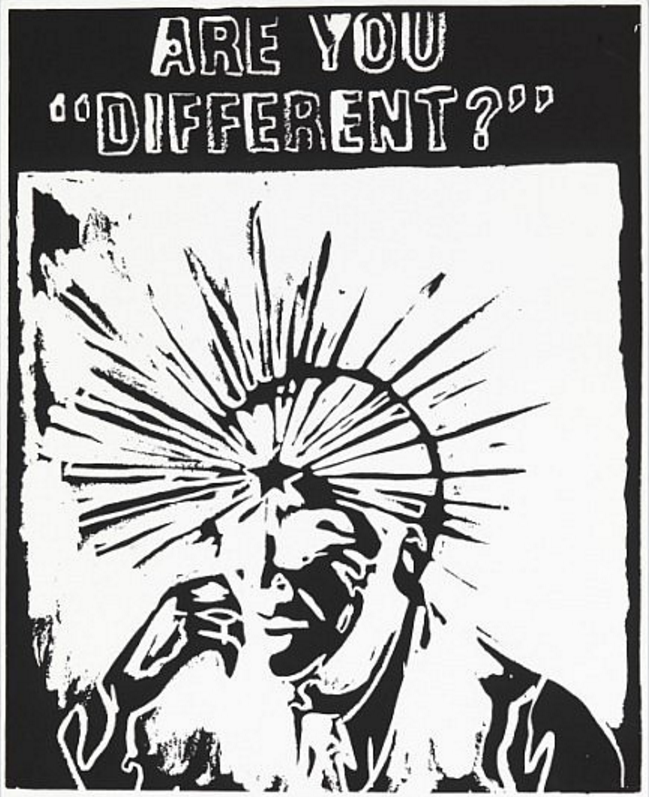 Are You Different by Andy Warhol (Negative)