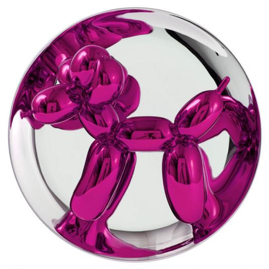 jeff koons, koons, pop, pop art, sculptures by jeff koons, balloon dog