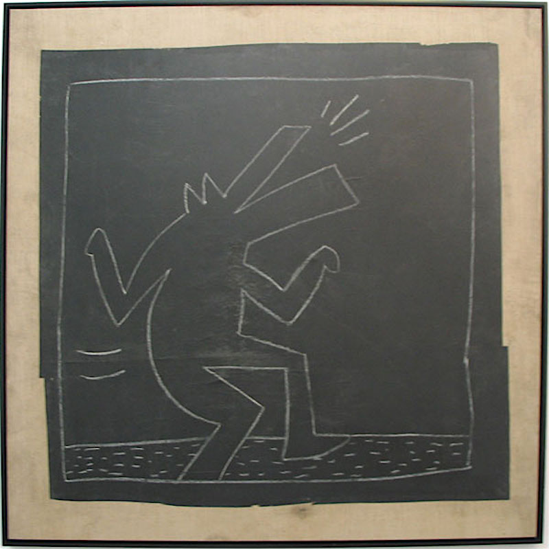 Untitled Barking Dog by Keith Haring