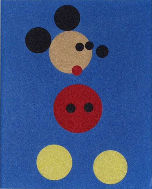 Damien Hirst Does Mickey Mouse, Damien Hirst Does Mickey Mouse