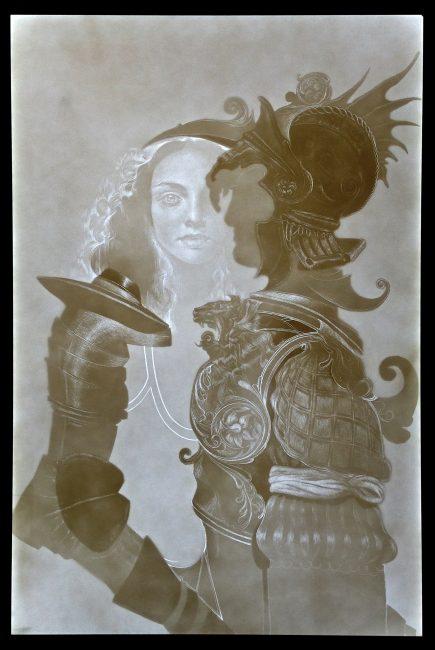 Armor I by Maria Kreyn