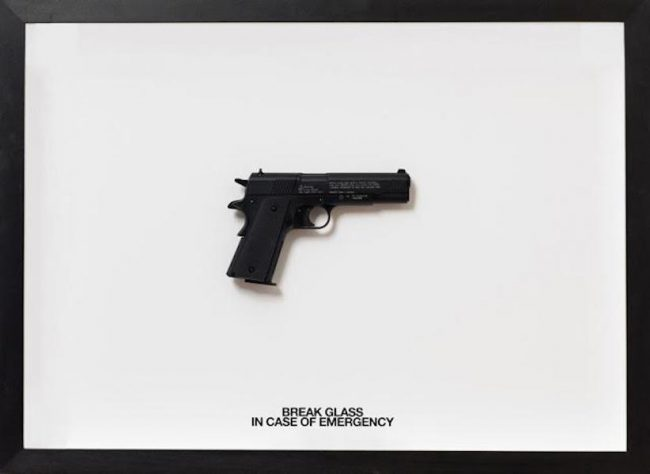 Break Glass in Case of Emergency (45 Magnum) by Ruby Anemic