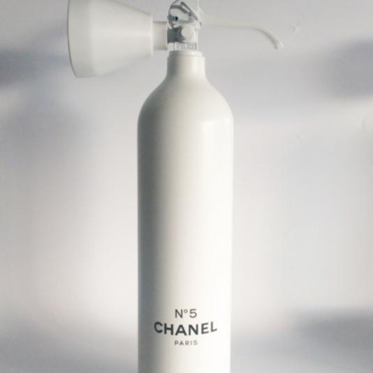 chanel, no.5, fire extinguisher, niclas castello