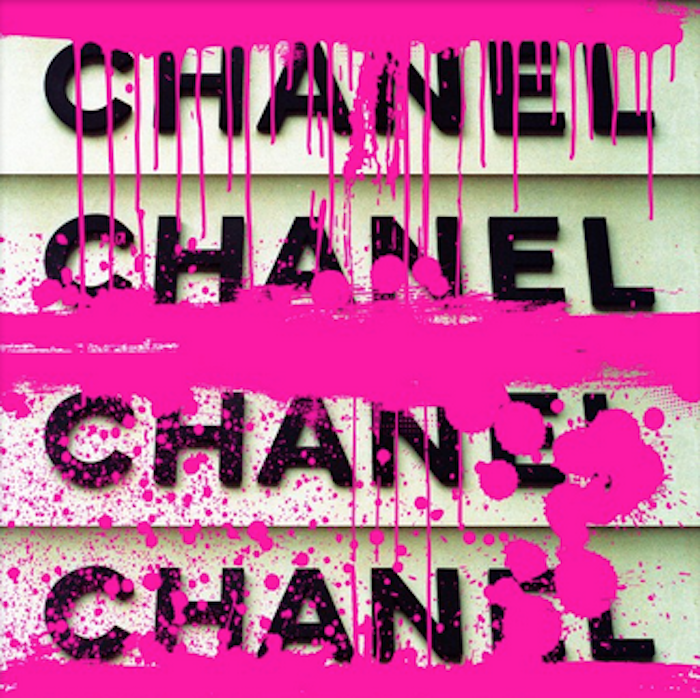 Chanel Stack White by The Ultravelvet Collection