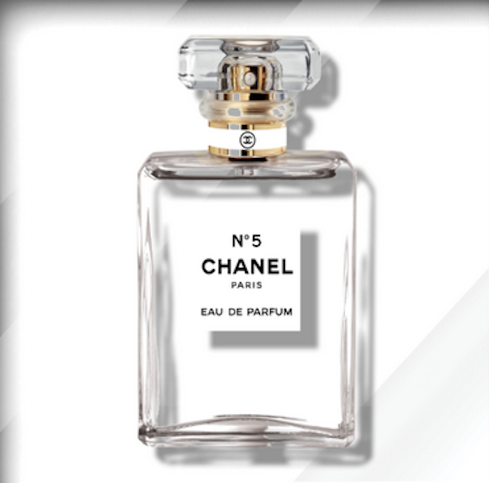 chanel no 5 clear by ultravelvet collection guy hepner. Black Bedroom Furniture Sets. Home Design Ideas