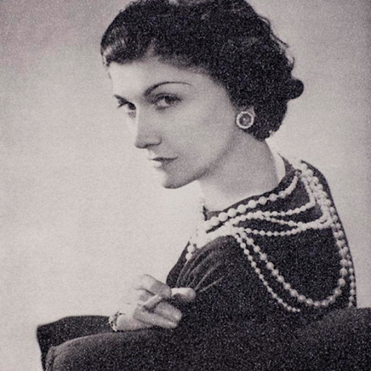 Coco-Chanel by Russell Young