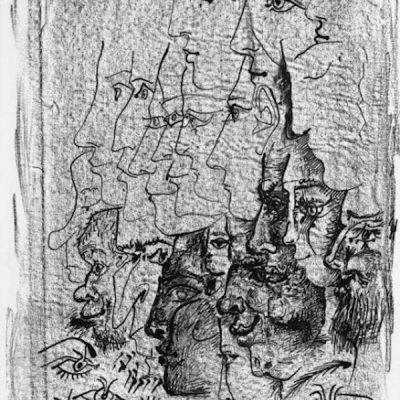 Étude de Profils by Picasso