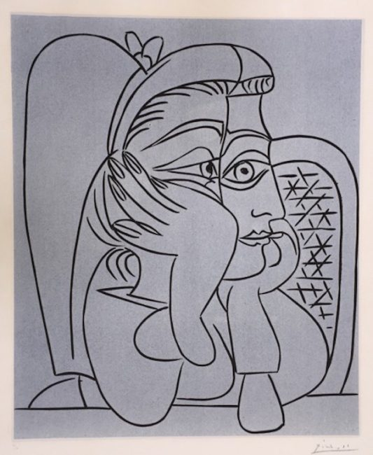 Portraits by Picasso, Warhol, and Wesselmann, Portraits by Picasso, Warhol, and Wesselmann