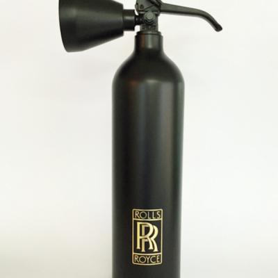 rolls royce, fire extinguisher, niclas castello