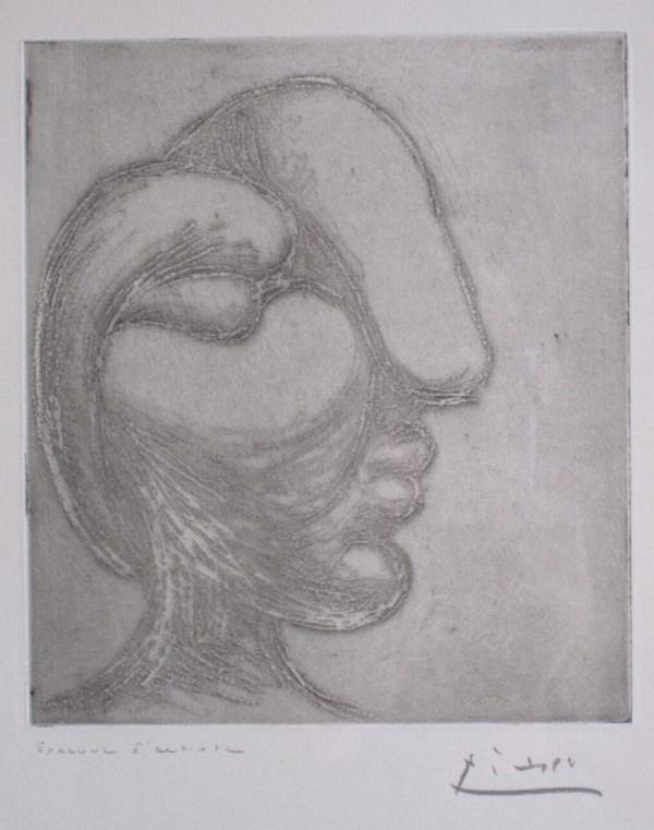Tête de Femme by Picasso
