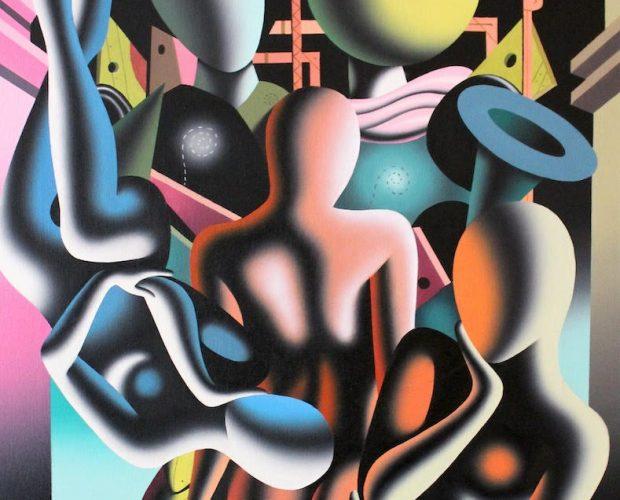 Untitled 2 by Mark Kostabi