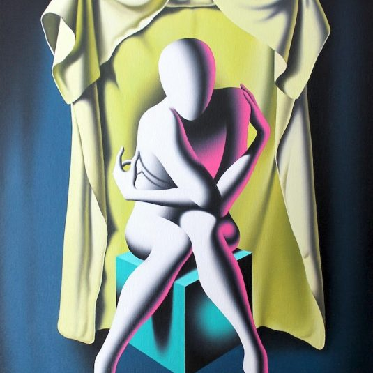 Untitled 1 by Mark Kostabi