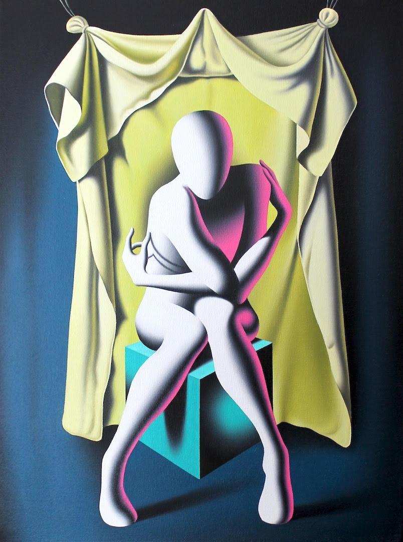 Untitled 1 by Mark Kostabi