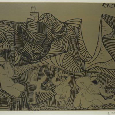 Bacchanale au Hibou by Picasso